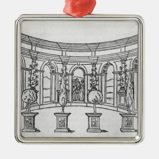 Theleme Abbey Christmas Ornament
