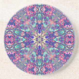 Thelemic Hexagram Portal  Sandstone Coaster