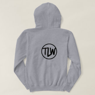 TheLifeofWill Hoodie with logo on back