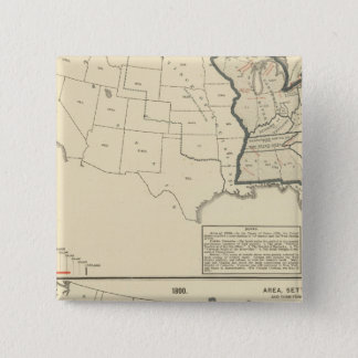 Thematic United States 15 Cm Square Badge