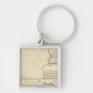 Thematic United States Key Ring