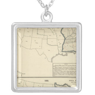 Thematic United States Silver Plated Necklace