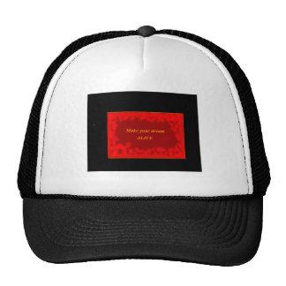 Theme cap trucker hat