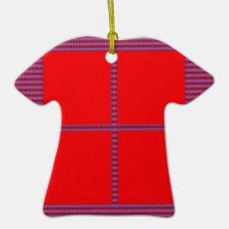 Theme Four Square - Satin Silk Sleek Designs Ceramic T-Shirt Decoration