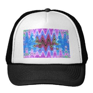 Theme Purple Wave Hat