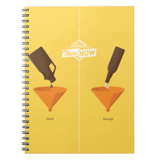 Then And Now: Beer Pong Notebooks