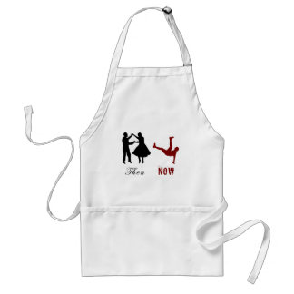 Then and Now - Dancing Has Changed Standard Apron