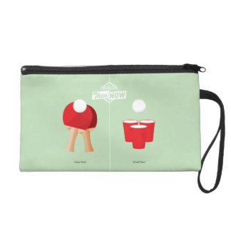 Then And Now: Ping Pong Wristlet Purse