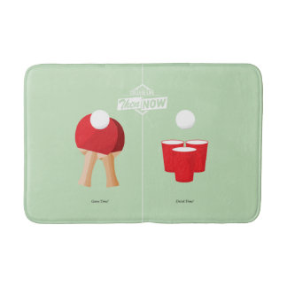Then And Now: Ping Pong Bath Mats