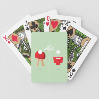 Then And Now: Ping Pong Bicycle Playing Cards