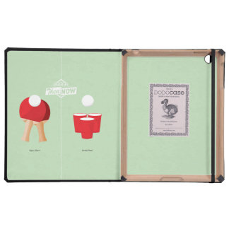 Then And Now: Ping Pong iPad Folio Case