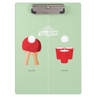 Then And Now: Ping Pong Clipboards
