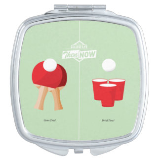 Then And Now: Ping Pong Compact Mirrors