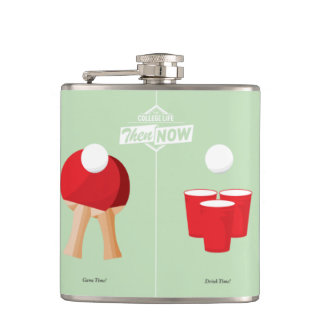 Then And Now: Ping Pong Flasks