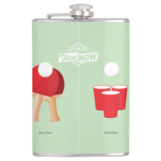 Then And Now: Ping Pong Hip Flask