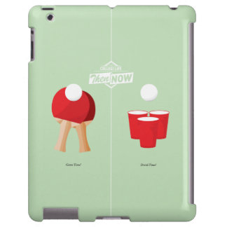 Then And Now: Ping Pong iPad Case