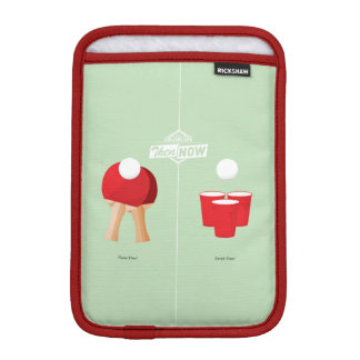 Then And Now: Ping Pong iPad Mini Sleeve