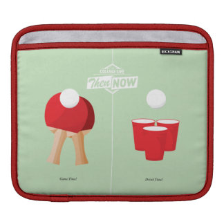 Then And Now: Ping Pong iPad Sleeve