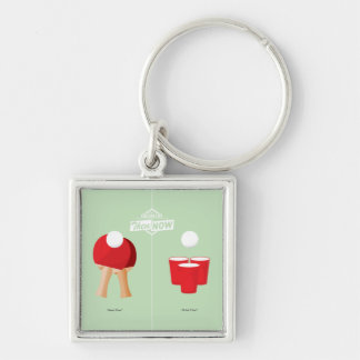 Then And Now: Ping Pong Key Ring