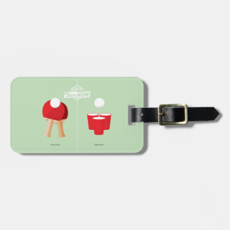 Then And Now: Ping Pong Luggage Tag