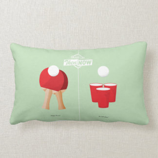 Then And Now: Ping Pong Lumbar Cushion