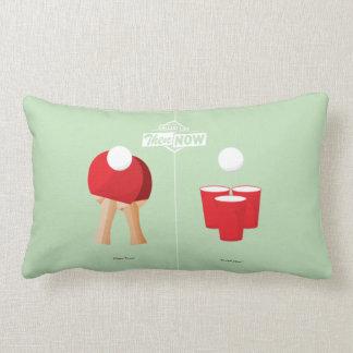 Then And Now: Ping Pong Lumbar Pillow