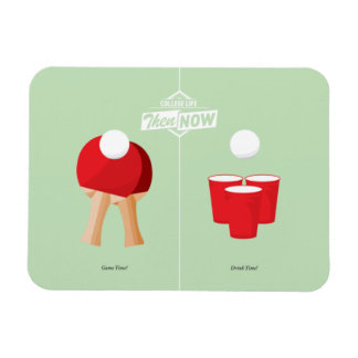 Then And Now: Ping Pong Magnet