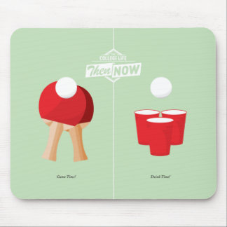 Then And Now: Ping Pong Mouse Pad