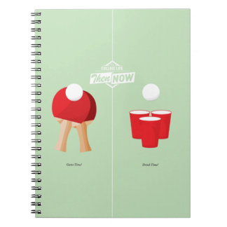 Then And Now: Ping Pong Note Book