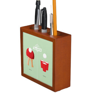 Then And Now: Ping Pong Pencil/Pen Holder