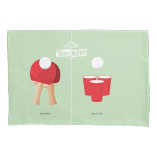 Then And Now: Ping Pong Pillowcase