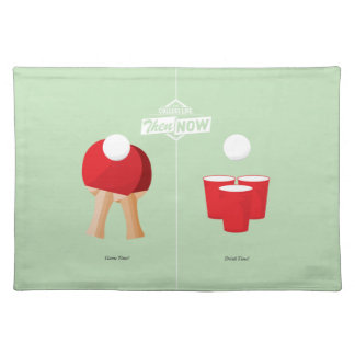 Then And Now: Ping Pong Placemat