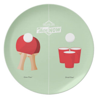 Then And Now: Ping Pong Plate