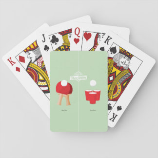 Then And Now: Ping Pong Playing Cards
