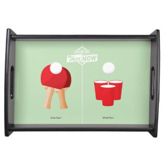 Then And Now: Ping Pong Food Trays