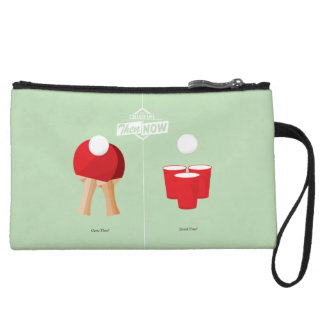 Then And Now: Ping Pong Wristlet Purses