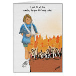 Then I called the Fire Department! Greeting Card