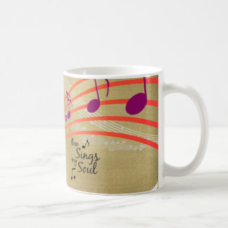 Then Sings my Soul Quote Coffee Mug