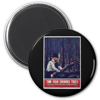 Then Your Crowded Trees Magnets