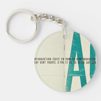 Theo Doesburg- Launch issue of Art Concret Acrylic Key Chain