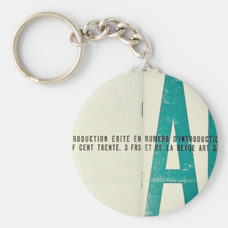 Theo Doesburg- Launch issue of Art Concret Key Chain