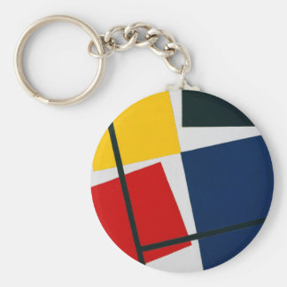 Theo Doesburg- Simultaneous Counter Composition. Keychains