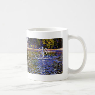 Theo Rysselberghe-  Parc Sans Souci at Potsdam Classic White Coffee Mug