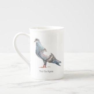 Theo The Pigeon Bone China Tea Cup