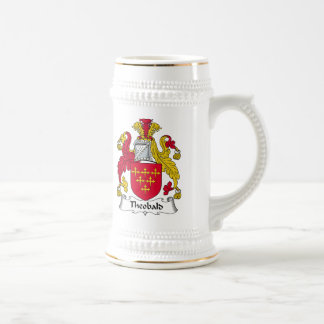 Theobald Family Crest Beer Stein