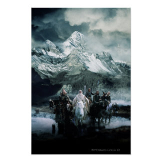 Theoden and the Fellowship Poster