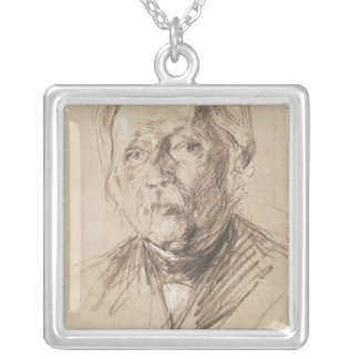 Theodor Fontane, 1896 Silver Plated Necklace