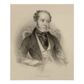 Theodore Hook, Esq., engraved by G. Murray Poster