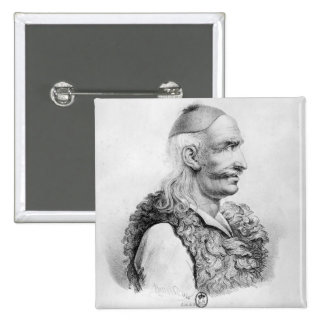 Theodore Kolokotronis  engraved by Alois 15 Cm Square Badge