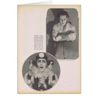 Theodore Kosloff 1922 vintage portrait Greeting Card